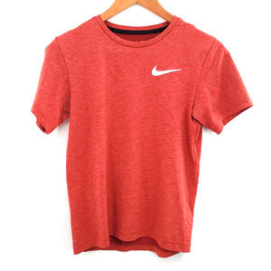 Boys Nike Dri Fit Heather Red T-Shirt